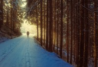 Winterwanderung der Rengersbrunnwallfahrer