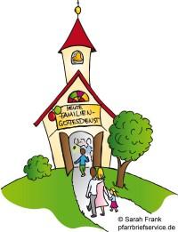 Familiengottesdienst am Pfarrfest