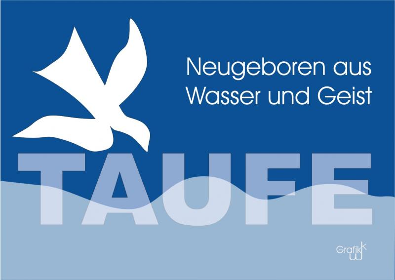 logo taufe by katharina wagner pfarrbriefservice